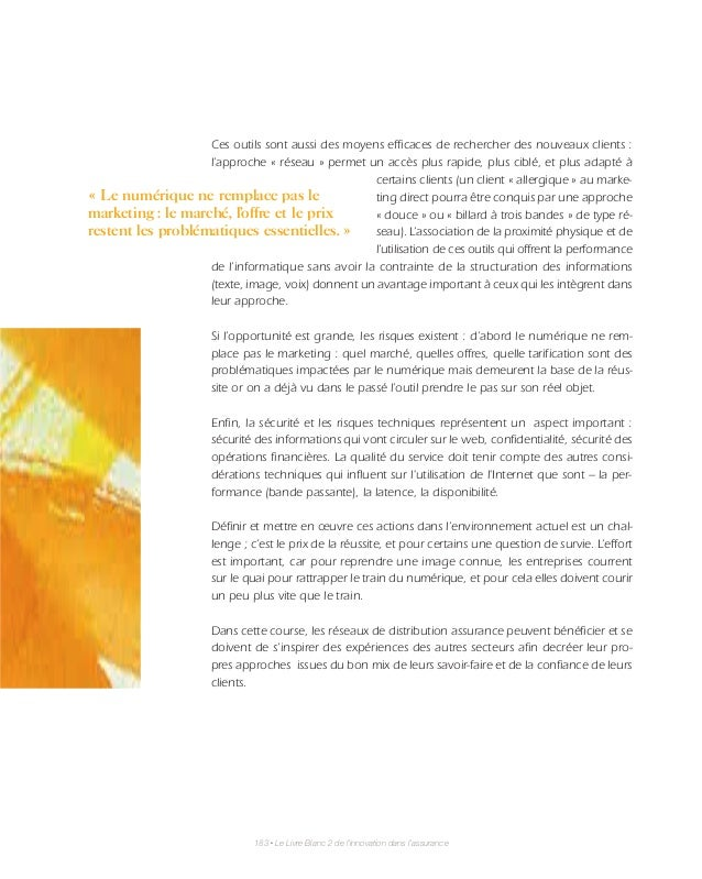 finance innovation livre blanc innovation dans l 39 assurance partie. Black Bedroom Furniture Sets. Home Design Ideas