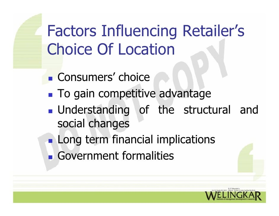 retail location strategies Title: formulating retail location strategy in a changing environment created date: 20160806144511z.