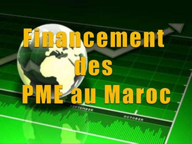  1- INTRODUCTION  2- EVOLUTION 1-2 Evaluation Du Système De Financement De La PME 1-2-1 Diminution Des Crédits A L'équip...