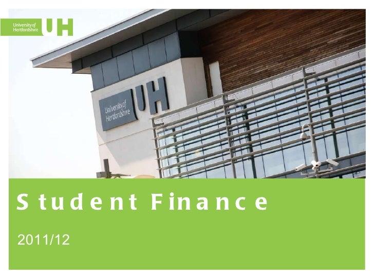 Student Finance 2011/12
