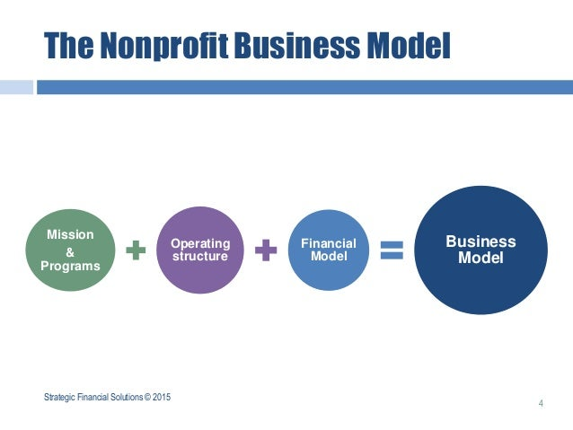 non profit business model - anuvrat.info