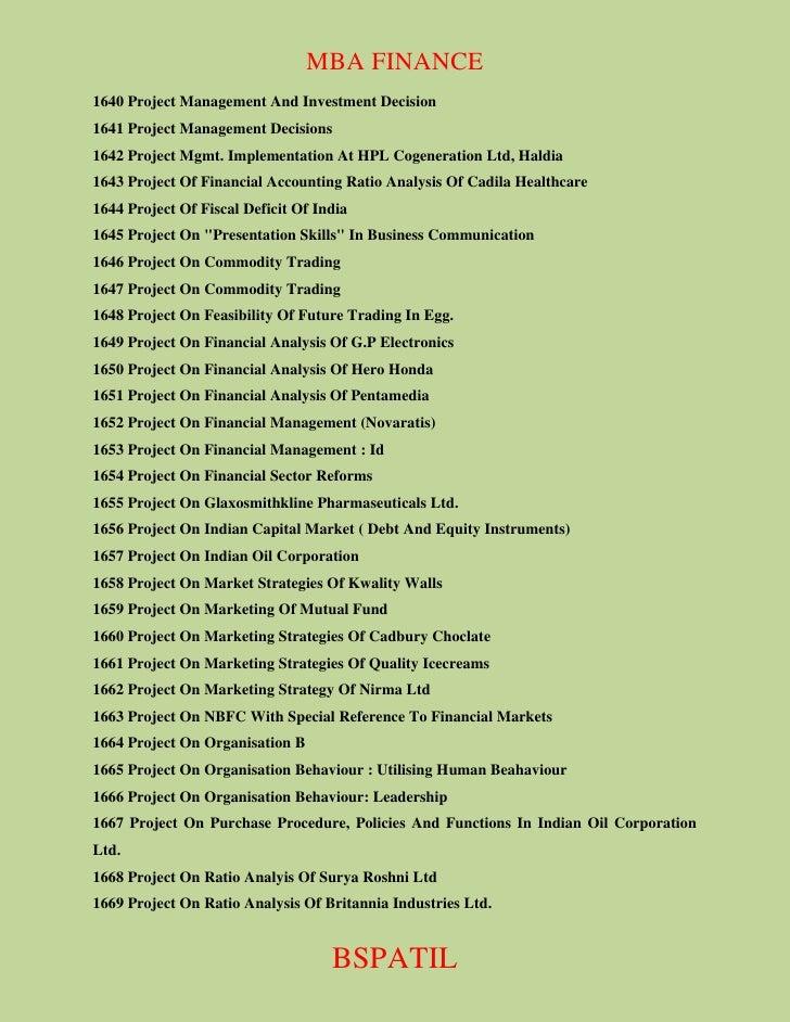 business communication project topics