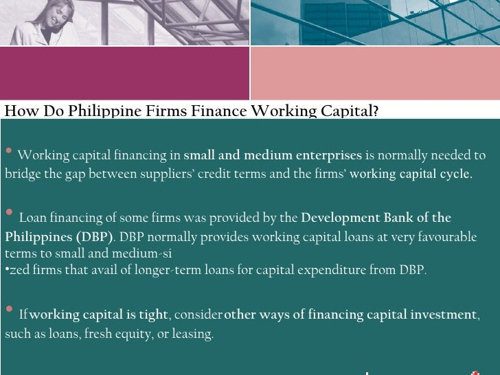 concepts of working capital and short term finance There are a few differences between fixed capital and working capital which has been discussed in this article they are terms as fixed capital, while if it serves short term requirements working capital is used to finance day to day business operations.
