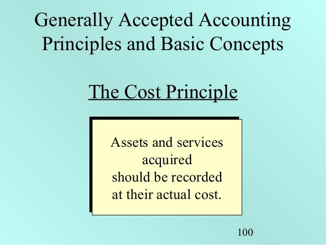generally accepted accounting principles essay United states - generally accepted accounting principles (united states) domestic firms typically report in this format.
