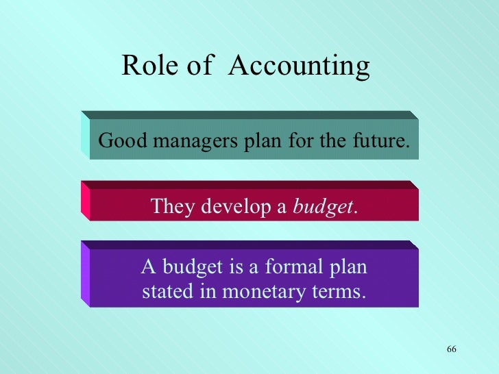 the importance of financial accounting Generally accepted accounting principles (gaap) are the set of rules, methods, processes and procedures used by companies across all industries in order to prepare standardized financial statements both publicly traded and privately-held companies in the united state can use gaap as part of.