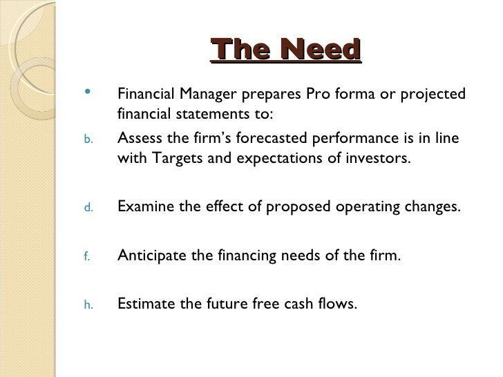 lecture 3 financial forecasting Undergraduate finance lecture at purdue university northwest  how to create a cash flow forecast using microsoft excel  link the 3 financial statements in excel.
