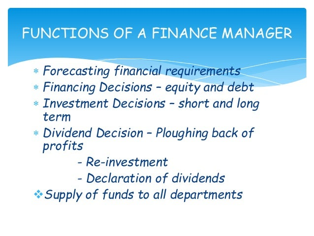 Financial management meaning