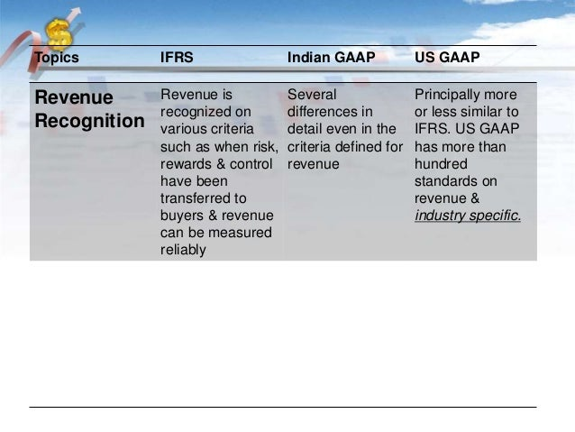 u s gaap vs ifrs This statement is similar in both the ifrs and gaap standards, unless a non-us company files a sorie.