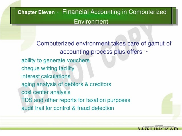 environment of accounting Abstract: the purpose of this article is to present certain aspects regarding  environmental accounting and the environmental costs, which are instruments  that.
