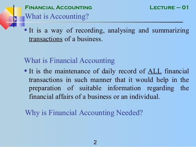 buacc5934 financial accounting The master of professional accounting provides an accelerated pathway to a  career in  for corporate groups, and contemporary issues in financial reporting.