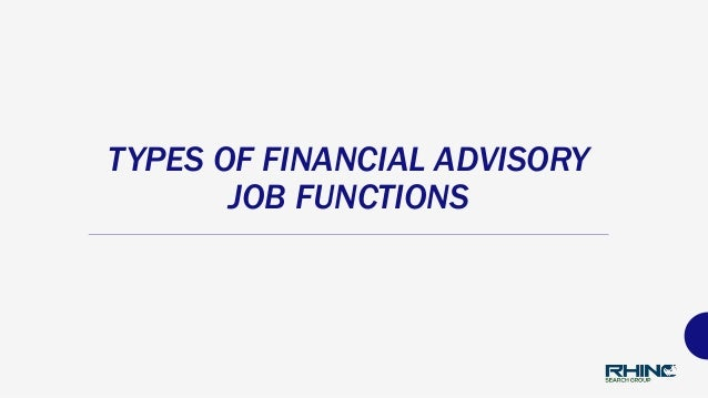 Financial Advisor Recruiters - Finding Your Ideal Position