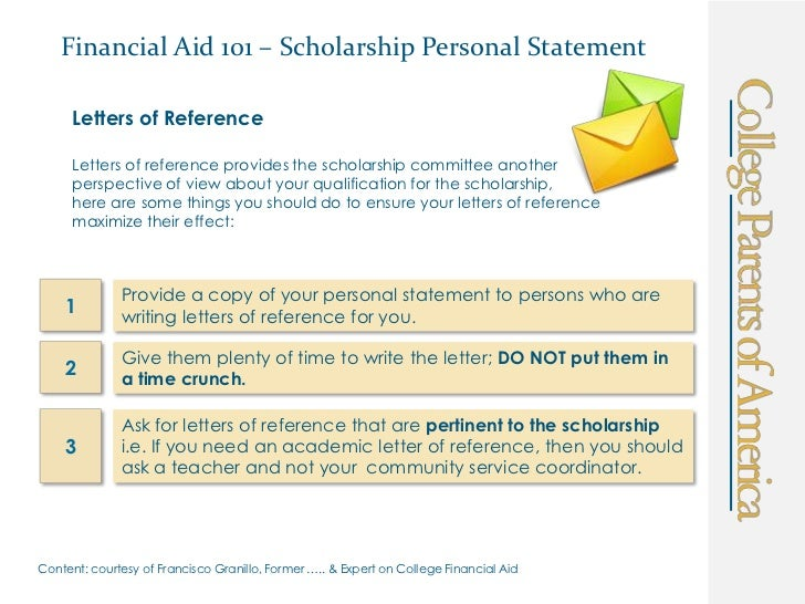 Financial assistance essays