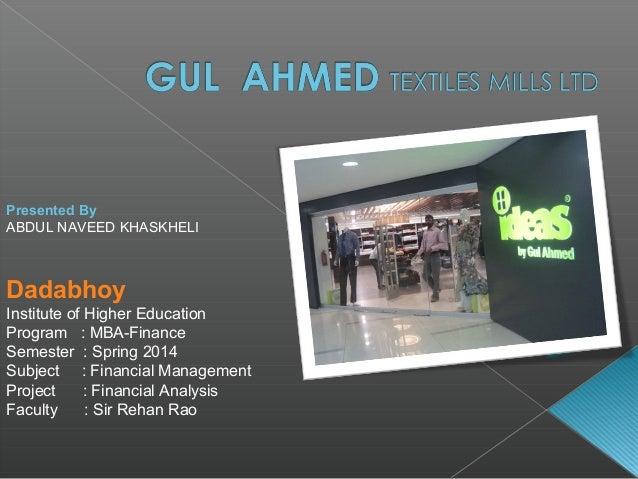 financial statement analysis of gul ahmed Kanza aijaz heeft 4 functies op zijn of haar  gul ahmed ideas retail resource development program irrdp jobs feb 2017 vacancies  financial statement analysis.