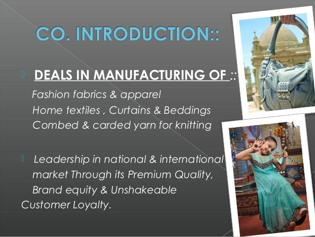marketing report of gul ahmed textile Reports related to marketing gul ahmed outlet report pakistan al karam textile mills,gul ahmed textile mills,report on gul ahmed outlet.
