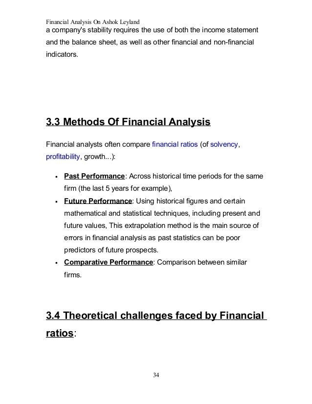 ashok leyland financial results