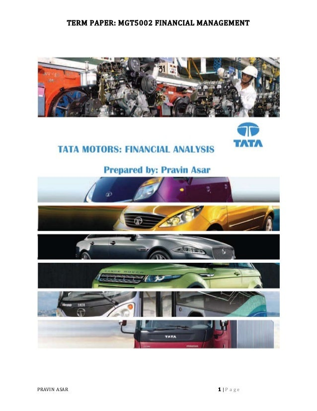 working capital case study tata motors A project report on working capital analysis of tata steel - download as word doc (doc / docx), pdf file (pdf), text file (txt) or read online ratios of working capital of tata steel.