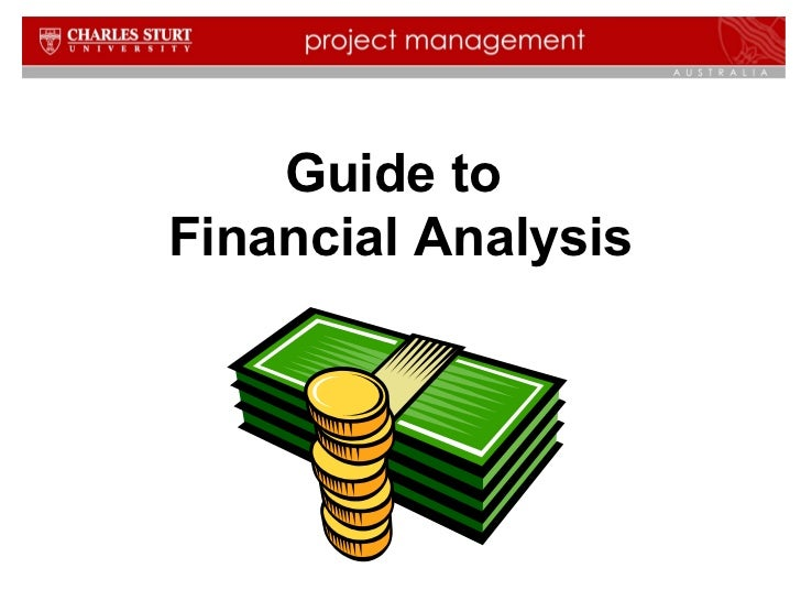 Guide to  Financial  Analysis