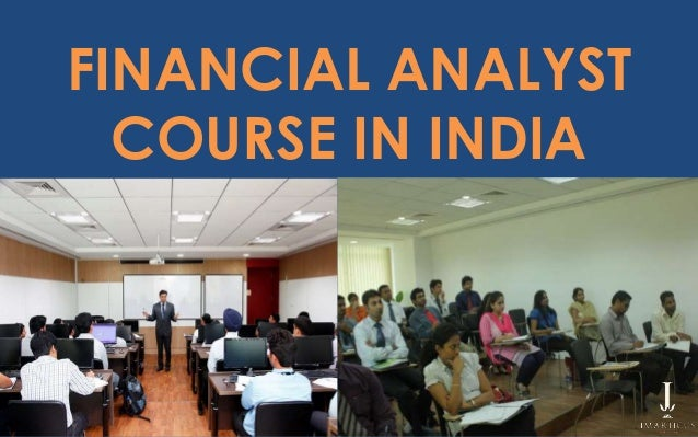 financial analyst course in india