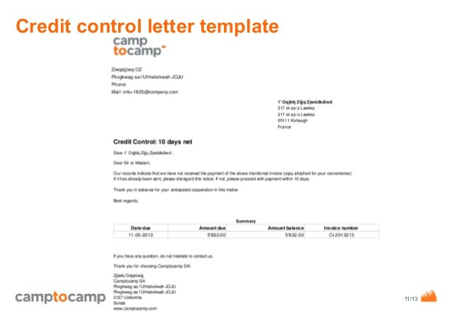 Format For Credit Note Credit Memo Template 13 Free Word – Credit Note Letter