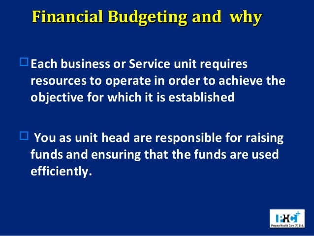 The importance of capital budgeting in local government administration