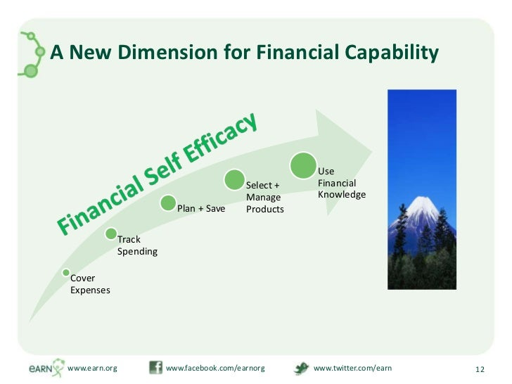 A New Dimension for Financial Capability<br />www.earn.org                         www.facebook.com/earnorg               ...
