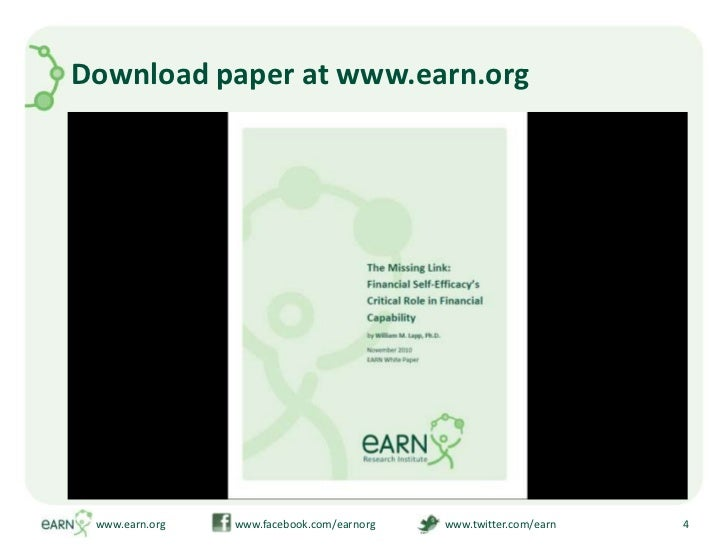 Download paper at www.earn.org<br />www.earn.org                         www.facebook.com/earnorg                         ...
