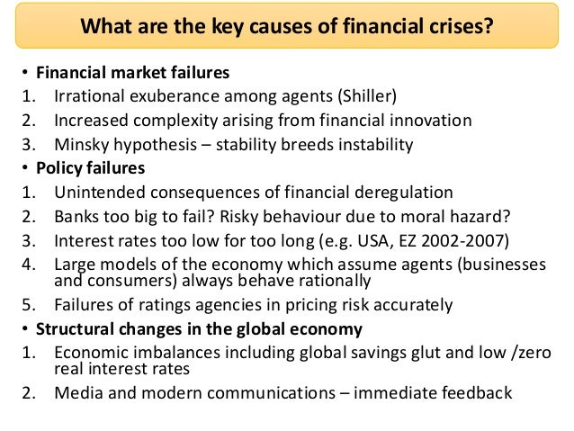 What caused the banking crisis?