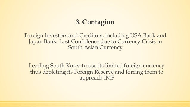 1997 asian financial crisis and hyundai The 1997-98 asian financial crisis introduction the asian financial crisis involves four basic problems or issues: (1) a shortage of foreign exchange in thailand, indonesia, south korea.