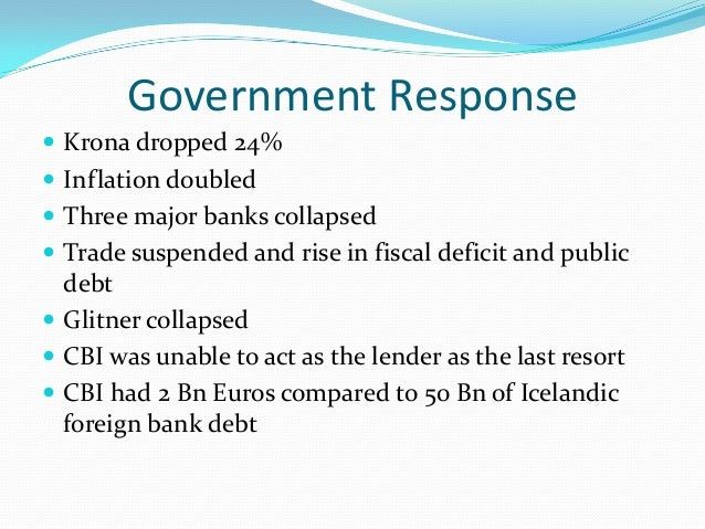 iceland finacial crisis Housing and financial crises: mortgage lending, mortgage products and government  those icelandic mortgages not denominated in foreign currencies were.
