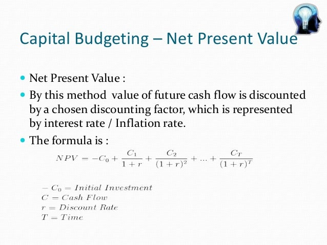 What is a discount factor?