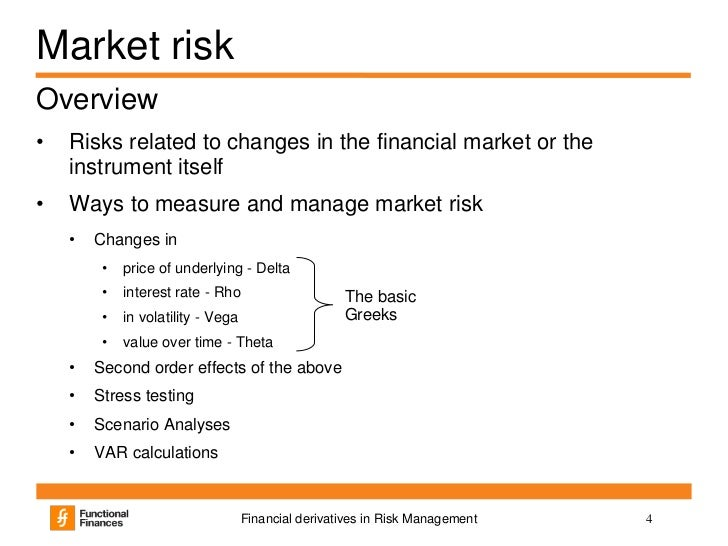 financial derivatives and risk management pdf