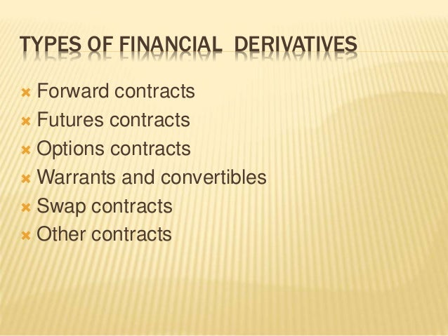Unsecured Loan Definition >> Financial derivatives