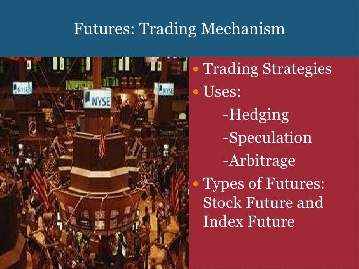 Trading strategies in derivatives