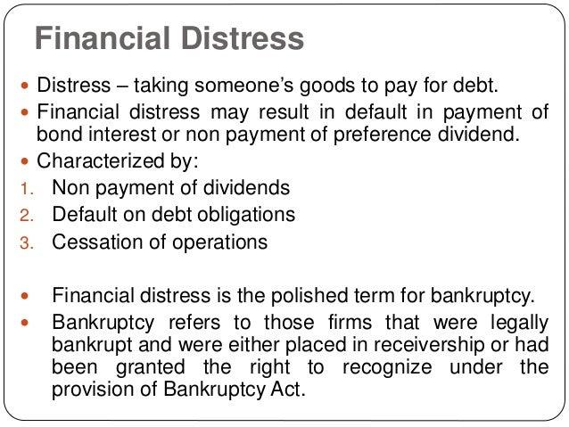 Non Financial Distress 41