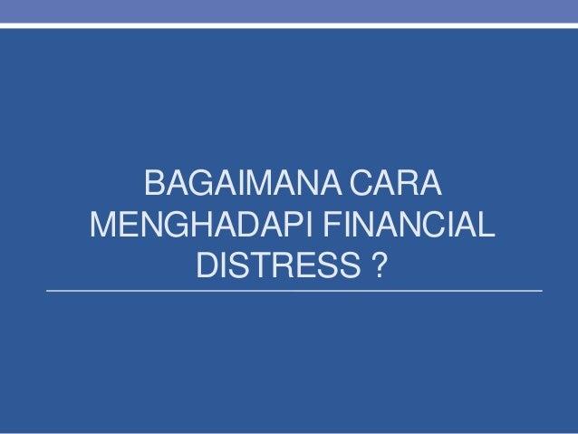 Non Financial Distress 120