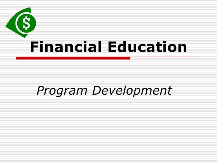 Financial Education Presentation