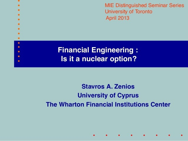 Financial Engineering : 