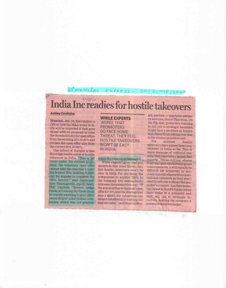 Financial Epress 20 June 2010