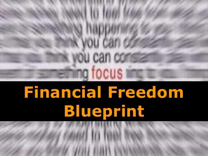 Financial Freedom Blueprint<br />1<br />