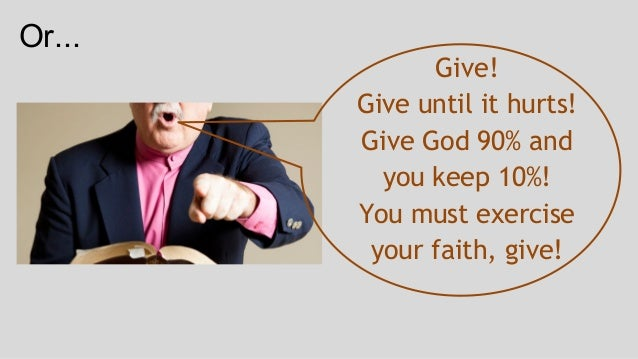 Financial Giving for Believers