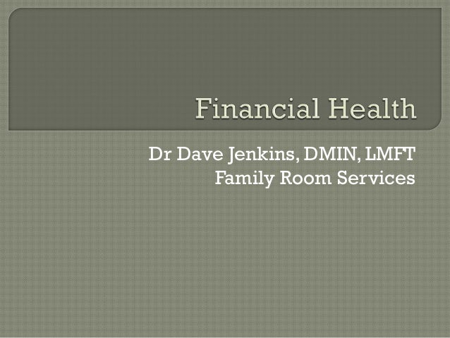 Assessing a Company's Future Financial Health (TN)