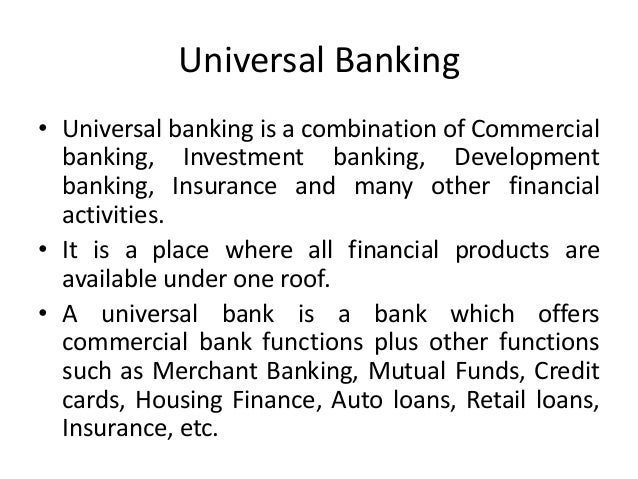 disadvantage of universal bank Universal bank (chinese: ) is an overseas chinese bank in the united states headquartered in west covina, california, with branch offices in arcadia, california, eagle rock, los angeles, california, monterey park, california, orange, california, and rosemead, california, this.