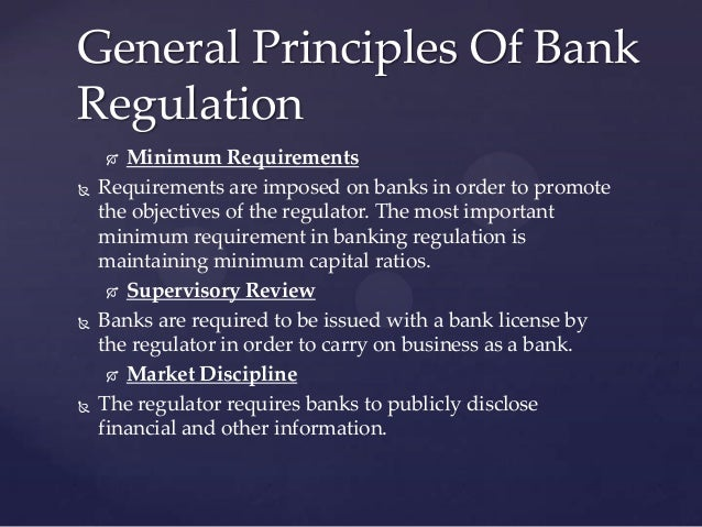 principles of banking and law This presentation considers selected laws relating to businesses in uganda, including contract law, sale of goods law, partnerships law, employment law, banking law, property law and international contract law it is intended for readers interested.