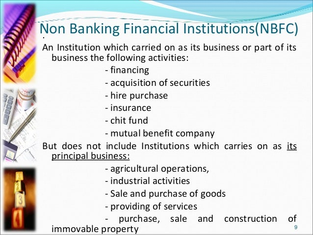 non banking financial institutions International journal of finance and accounting 2012, 1(2): 14-22 doi: 105923/jijfa2012010203 non-bank financial institutions and economic.