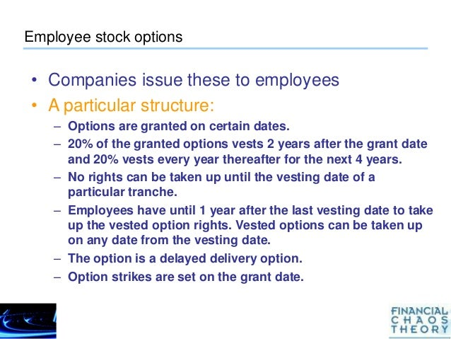 How to hedge employee stock options
