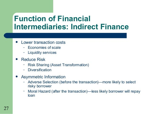 financial intermediation En the following topics were also identified for inclusion in the long-term research agenda on financial intermediation services indirectly measured: (a) further development of.