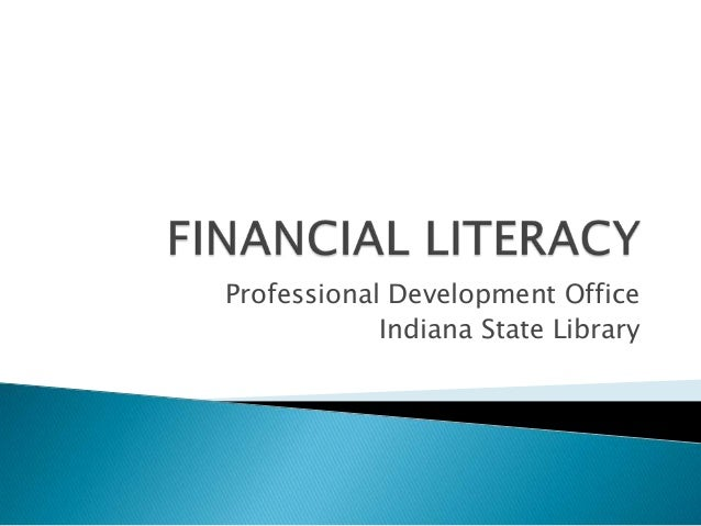 Professional Development Office Indiana State Library