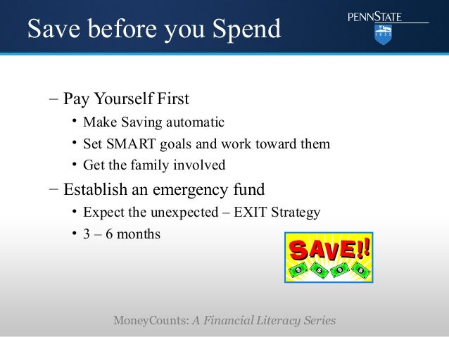 Money Matters Financial Literacy For Healthcare