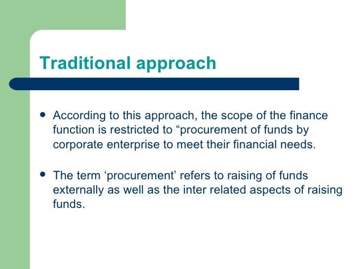 Accounting For Restricted Funds