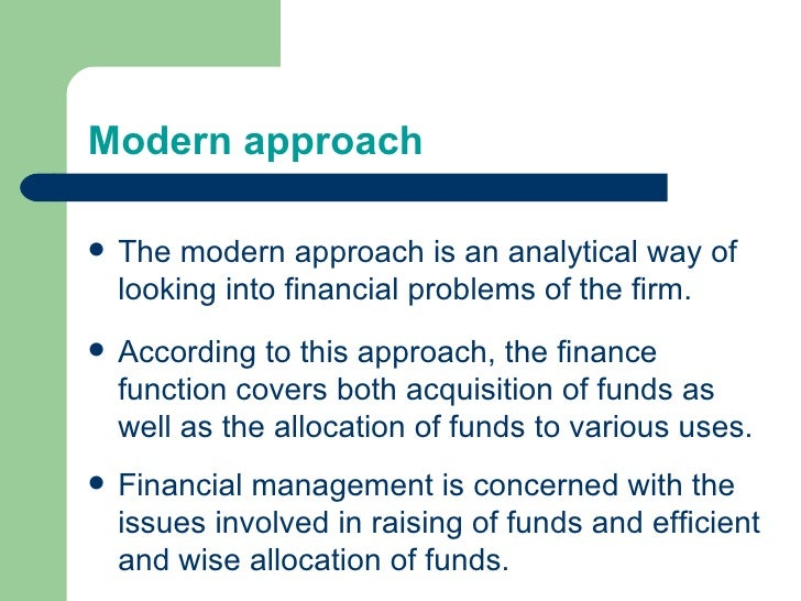 modern approaches to management The modern approaches to management tend to build onto these provisions by providing meaningful insights that enable management practices to be relevant and more effective in the modern day.